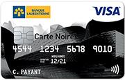 carte visa noire taux reduit