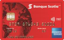 carte American ExpressMD de la Banque ScotiaMD