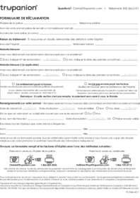Formulaire Réclamation Trupanion