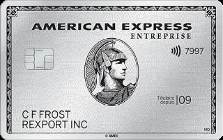 carte de platine entreprise american express