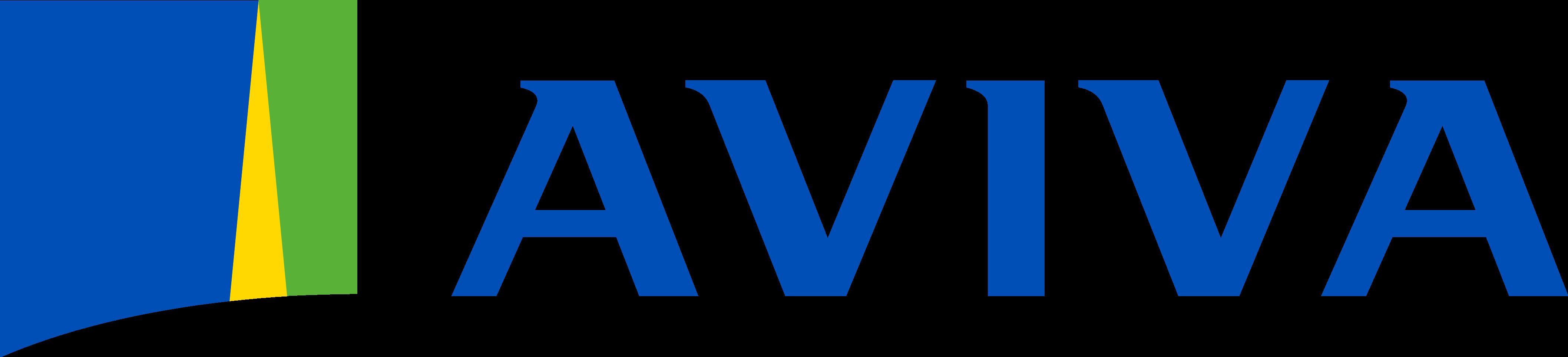 aviva logo logotype